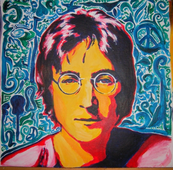 Imagine All The People Living Life In Peace Happy Birthday John Lennon