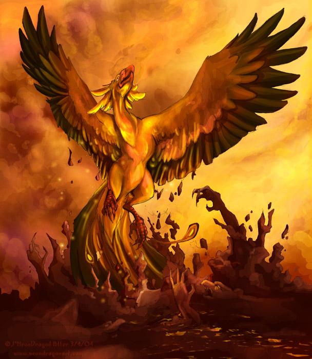 The Phoenix Rises - Original Poem (1/2)