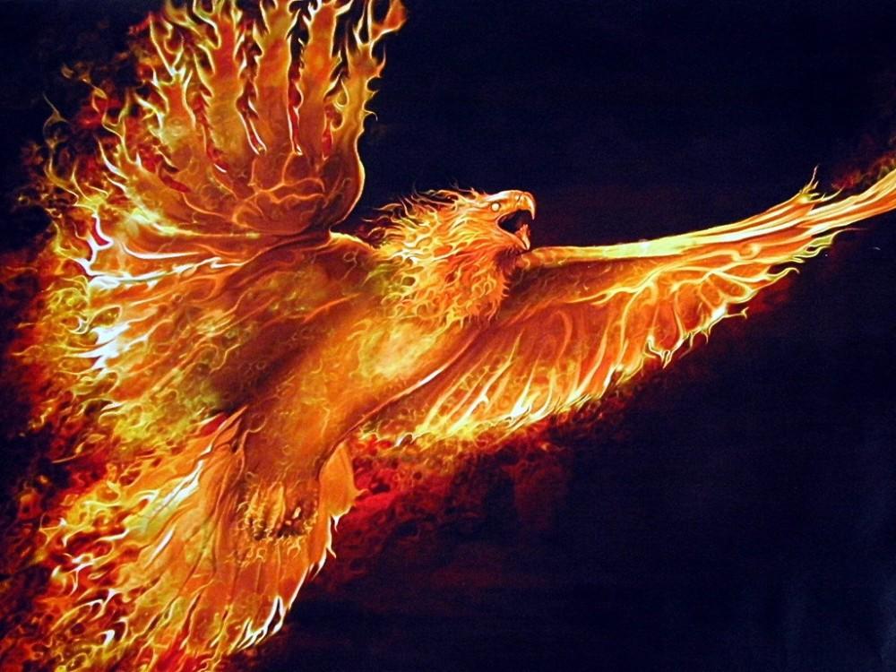 The Phoenix Rises - Original Poem (2/2)